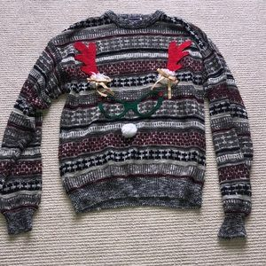 Ugly Christmas sweater - reindeer